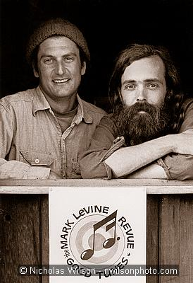 The Mark LeVine Revue duo in 1973